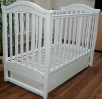 Кроватка детская ЛД 3, резьба