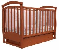 Кроватка детская ЛД 6 (маятник+ящик)