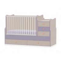 Кроватка-трансформер Bertoni MAXI PLUS NEW 70-160