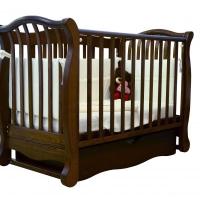 Кроватка детская ЛД 19 (маятник+ящик)