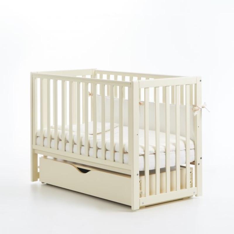 Кроватка детская ЛД 13 (маятник+ящик, длинная спица)