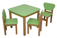 - столики и  стульчики