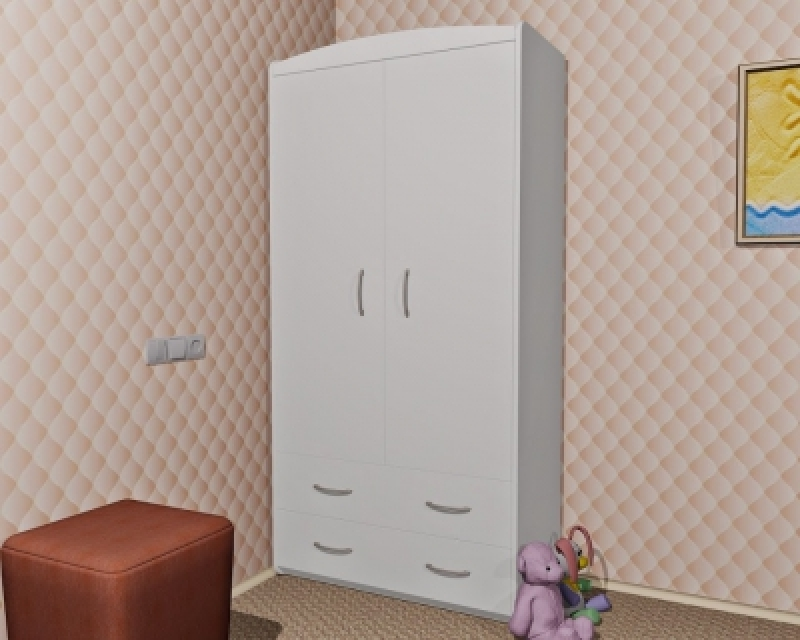 Шкаф ORIS (белый)