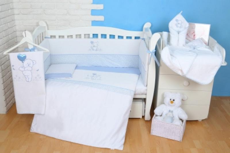 """Сменная постель  Veres (110\145)""""Sweet Bear blue"""" (3од.)"""