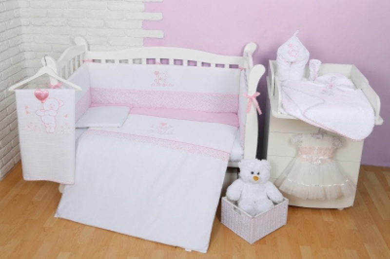 "Сменная постель  Veres (110\145)""Sweet Bear pink"" (3од.)"