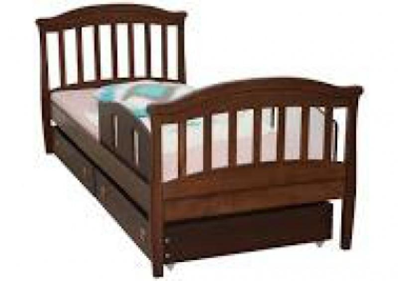 Кроватка подростковая, 1900х800, орех