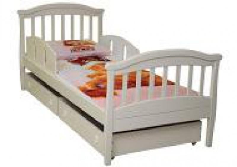 Кроватка подростковая, 1900x800, слоновая кость