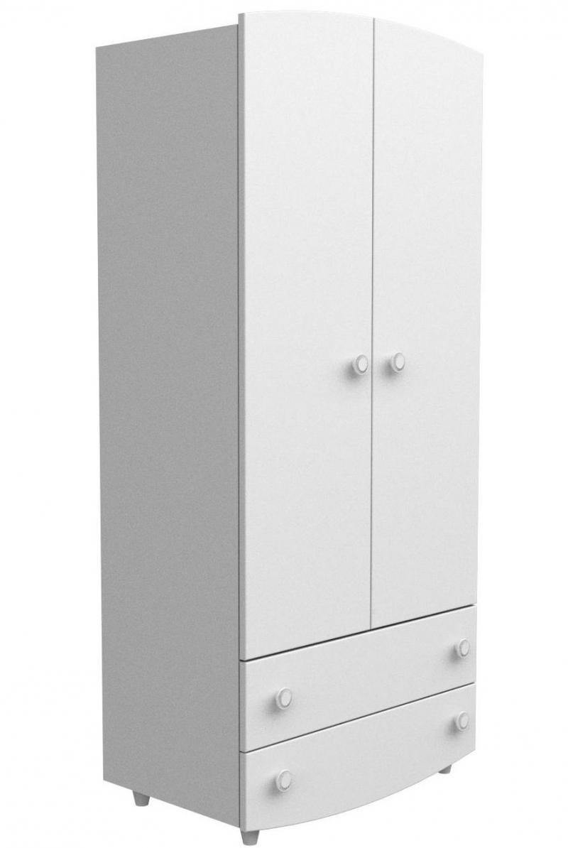 Шкаф №1 ДСП, белый