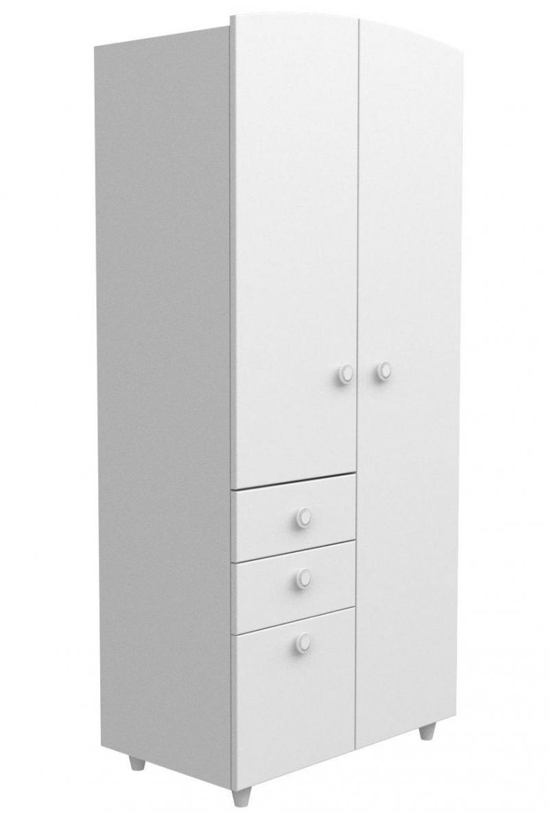 Шкаф №2 ДСП, белая