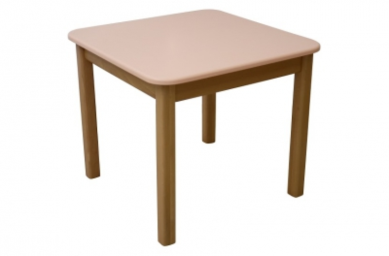 Столик дерево/пленка МДФ, персик