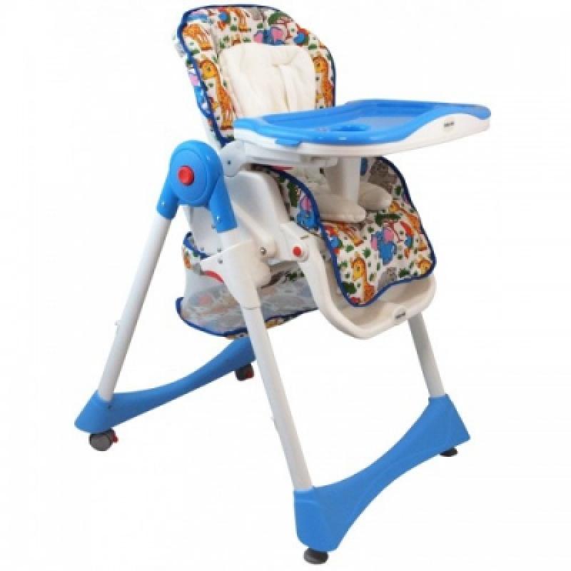 Стульчик для кормления Alexis-Babymix YB602A blue