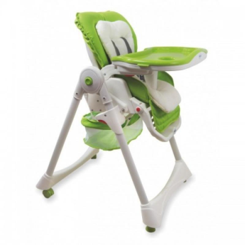 Стульчик для кормления Alexis-Babymix YB602A green
