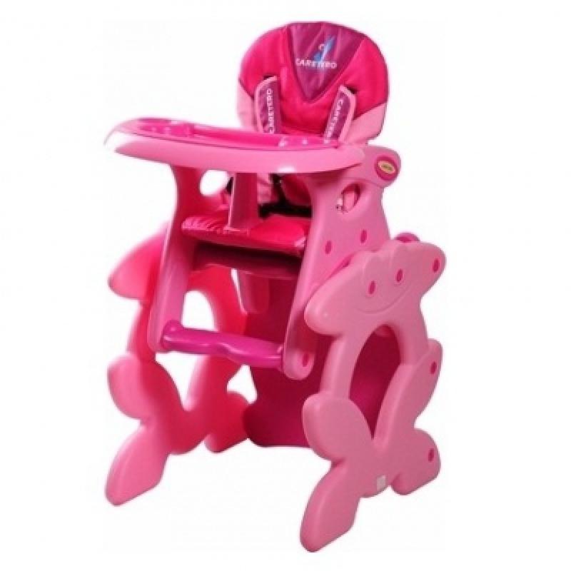 Cтульчик для кормления Caretero Primus Pink