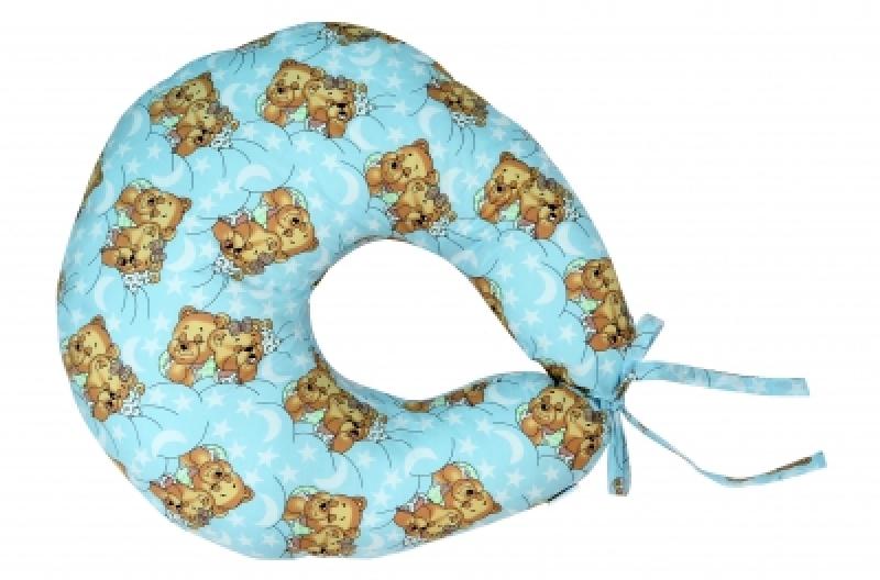 """Подушка для кормления Veres """"Medium blue"""" 200*90"""