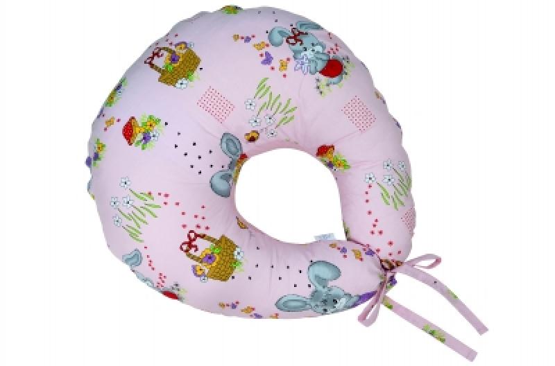 """Подушка для кормления Veres """"Medium pink"""" 200*90"""