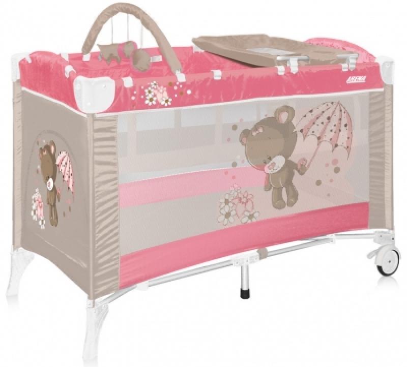Манеж Bertoni ARENA 2L+ (pink bear)