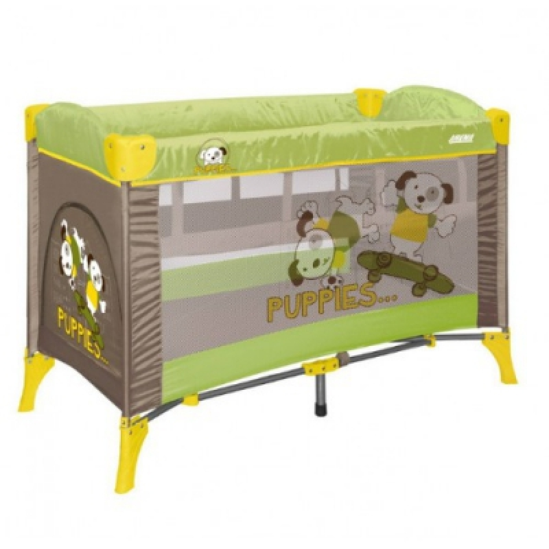 Манеж Bertoni ARENA 2L (green beige puppies)