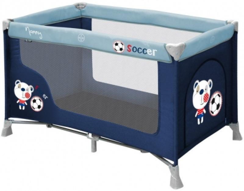 Манеж Bertoni Nanny 1L (blue soccer)