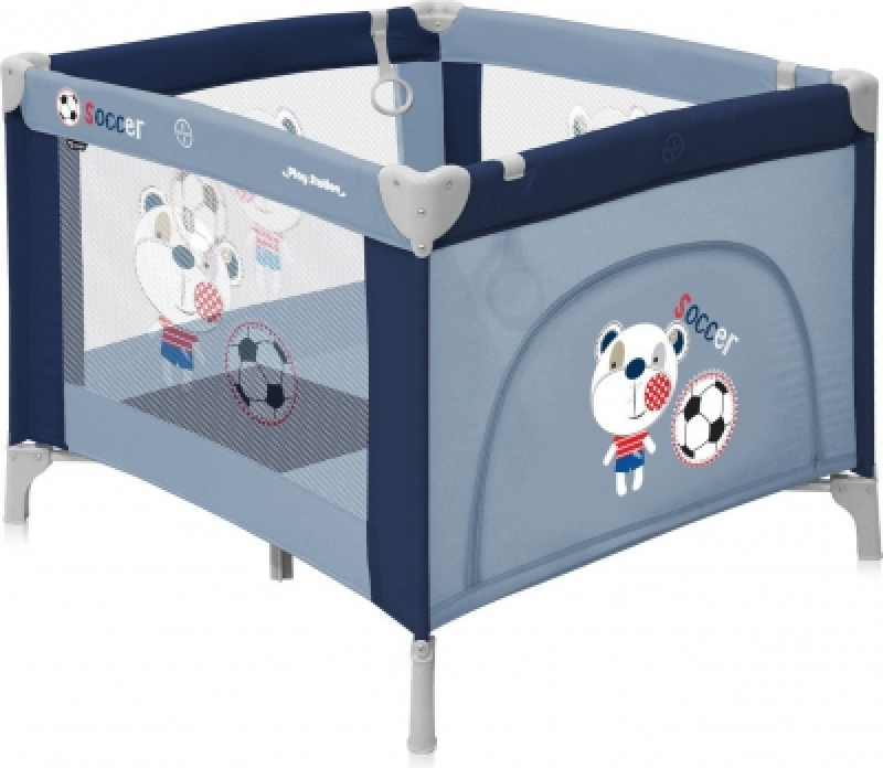 Манеж Bertoni PLAY STATION (blue soccer)