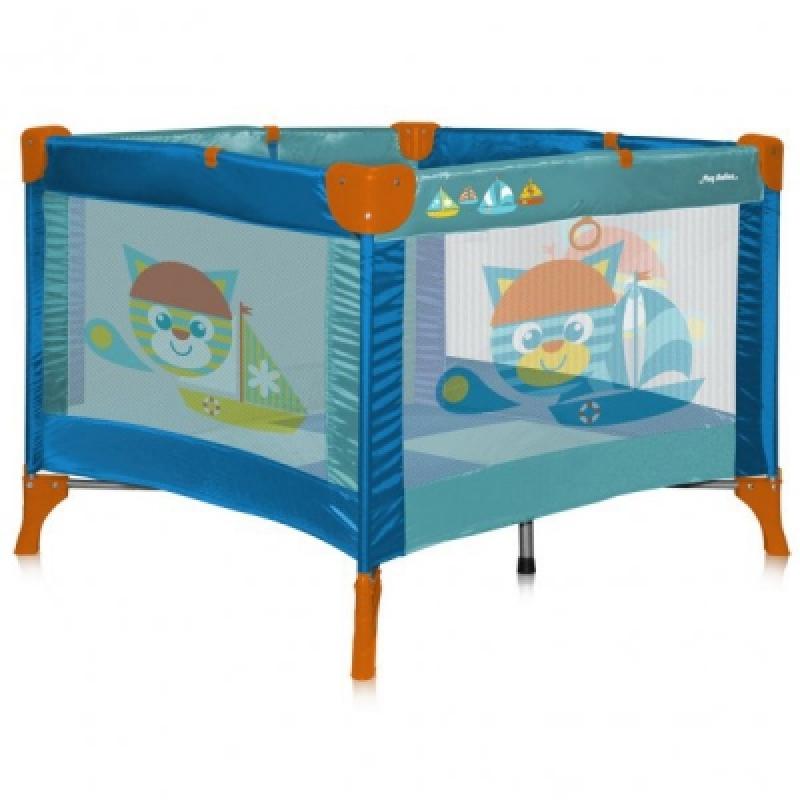 Манеж Bertoni PLAY STATION (cat aquamarine)