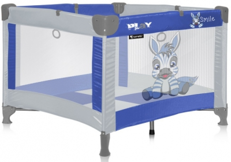 Манеж Bertoni PLAY (blue zebra)