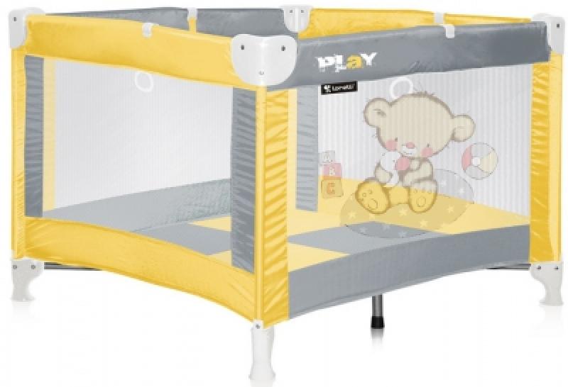 Манеж Bertoni PLAY (yellow bear)