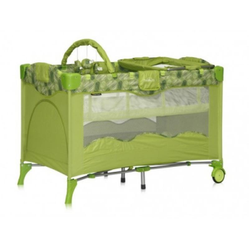 Манеж Bertoni TRAVEL KID 2L (layers green puzzle)