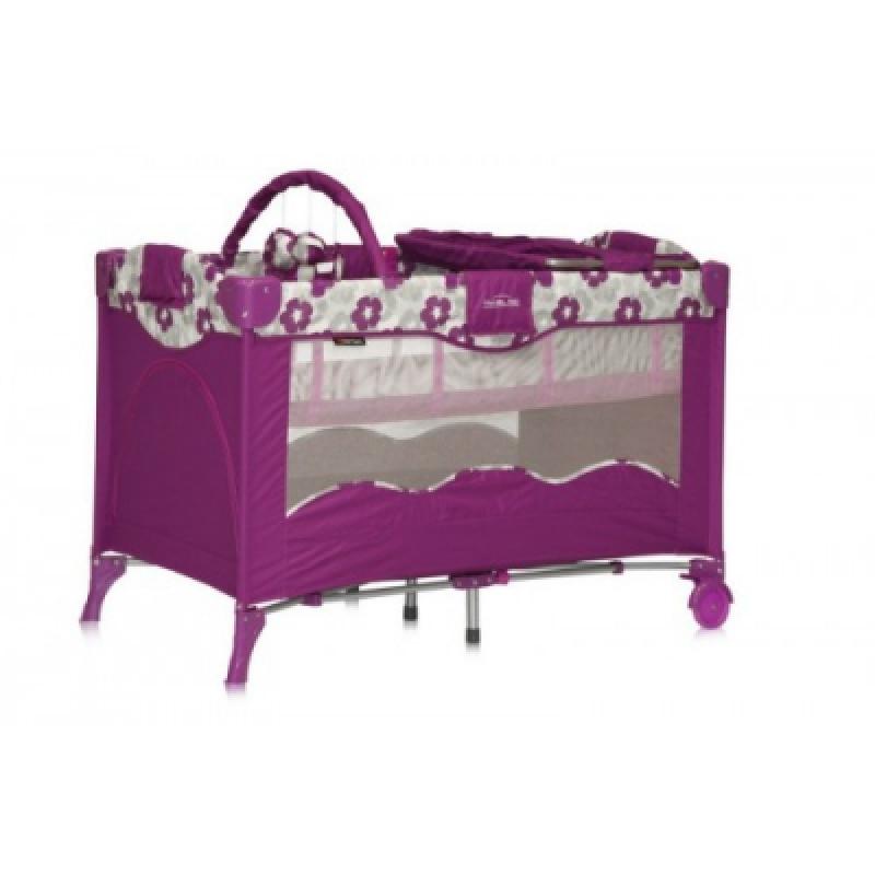 Манеж Bertoni TRAVEL KID 2L (violt flowers)