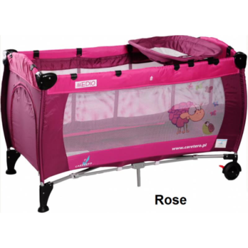 Манеж Caretero Medio Classic - rose