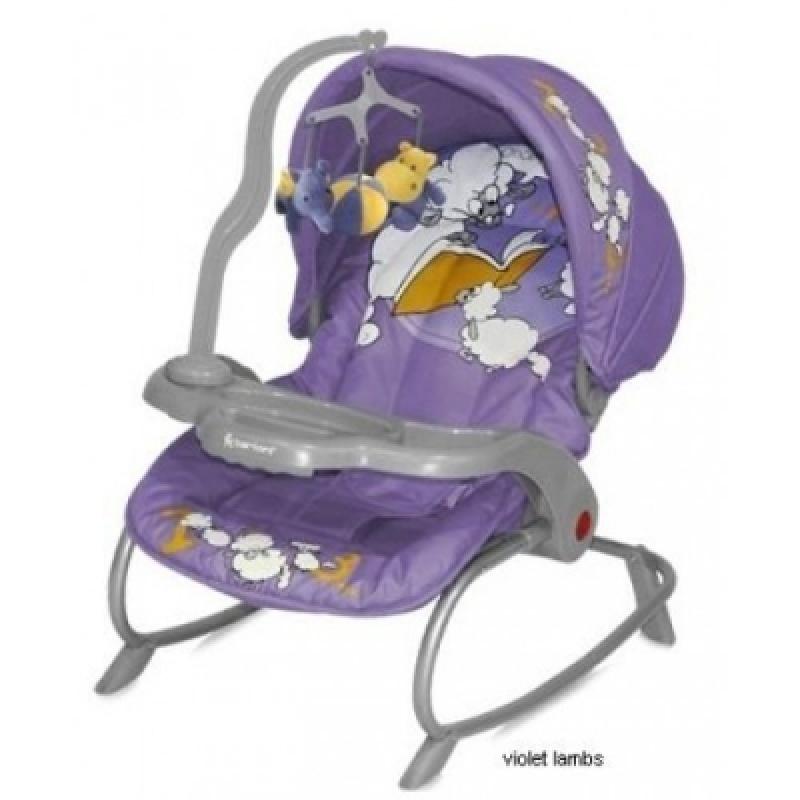 Кресло-качалка Bertoni Dream Time Violet Lambs
