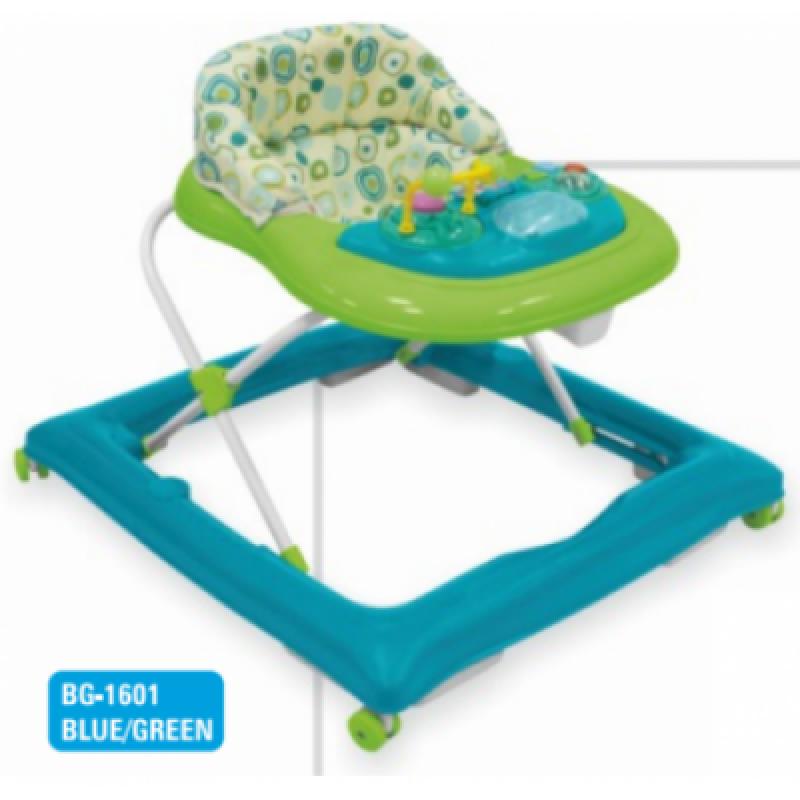 Ходунки Alexis-Babymix BG-1601 blue-green