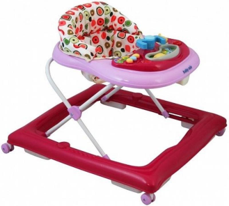 Ходунки Alexis-Babymix BG-1601 pink