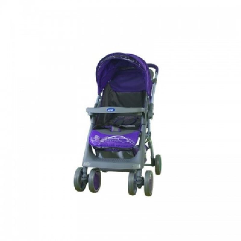 Коляска Bambini MARS ЧЕХОЛ (violet butterfly)