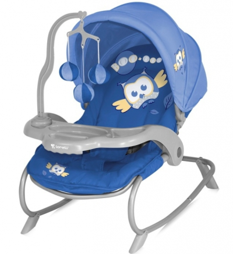 Шезлонг Bertoni DREAM TIME (blue baby owl lorelli)