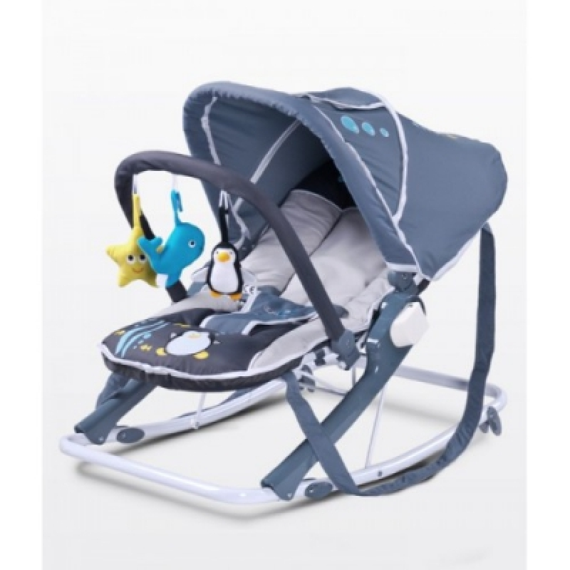 Шезлонг Caretero Aqua - grey