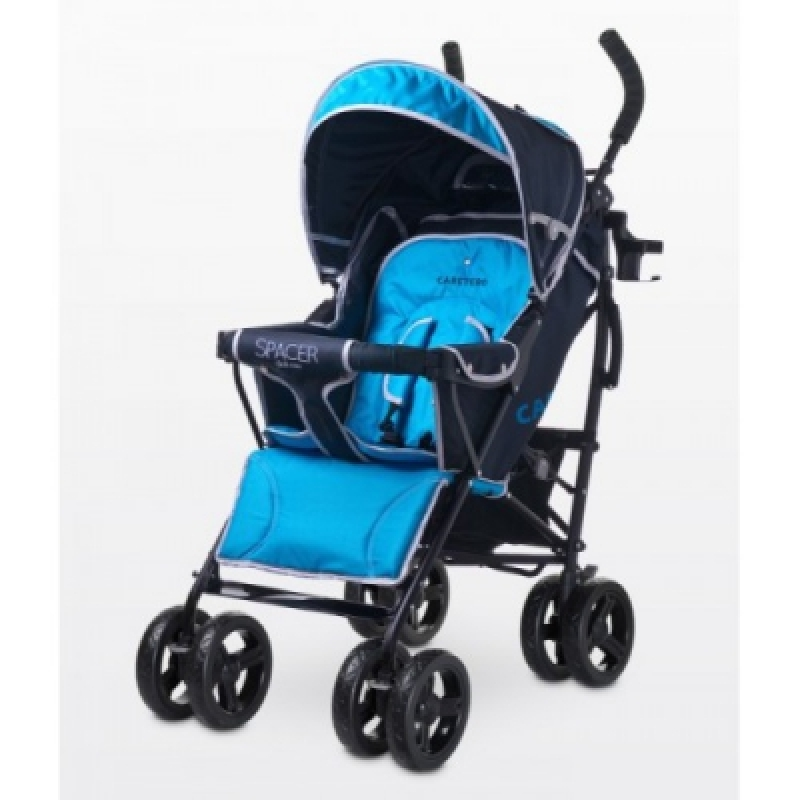 Коляска Caretero Spacer deluxe - blue