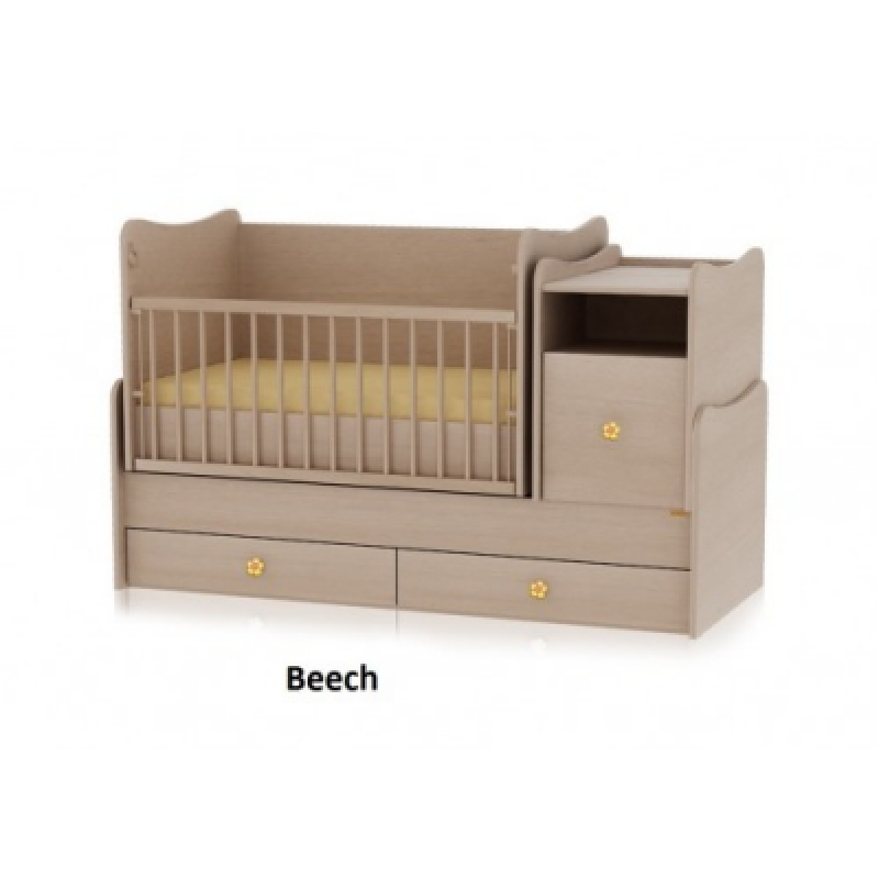 Кроватка-трансформер Bertoni TREND PLUS (beech)