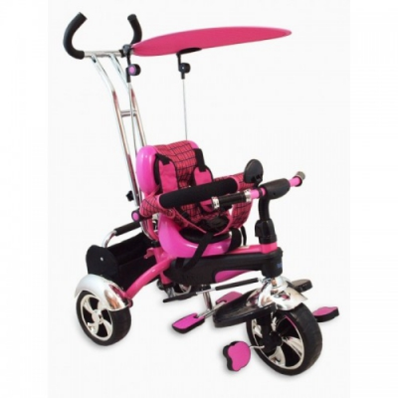Велосипед 3-х кол. Alexis-Babymix UR-DY-GR01A (pink)
