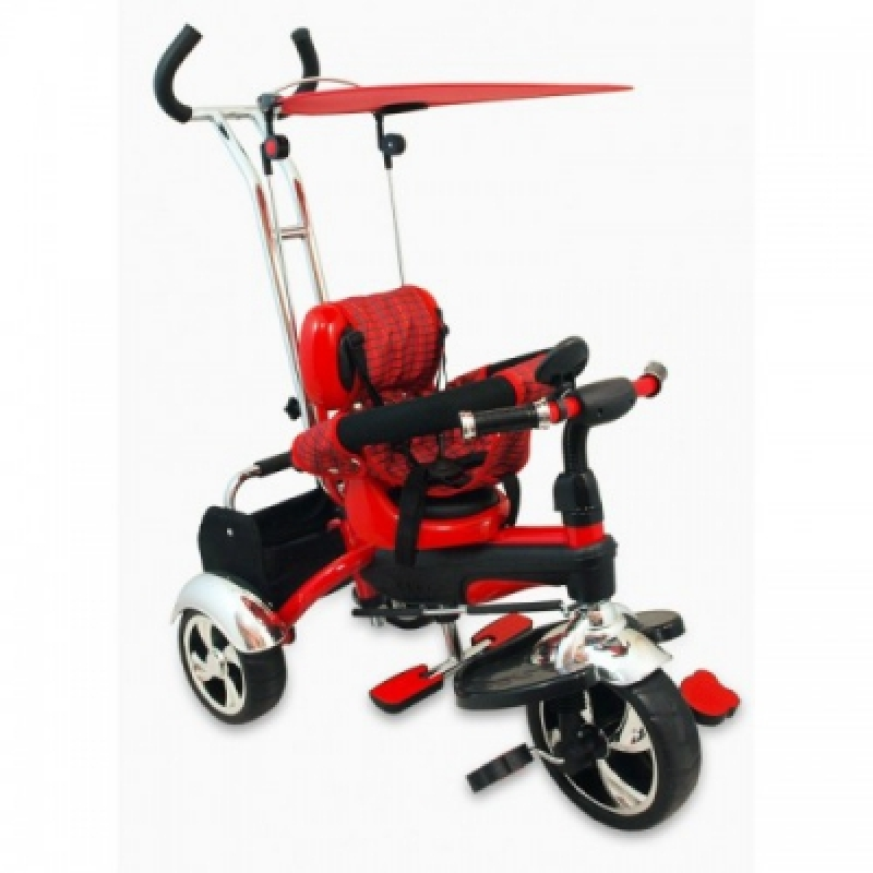 Велосипед 3-х кол. Alexis-Babymix UR-DY-GR01A (red)