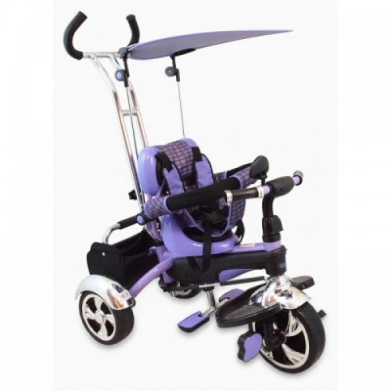 Велосипед 3-х кол. Alexis-Babymix UR-DY-GR01A (violet)
