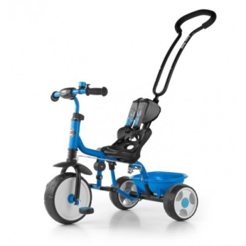 Велосипед 3х кол. M.Mally Boby 2015 с подножкой (blue)