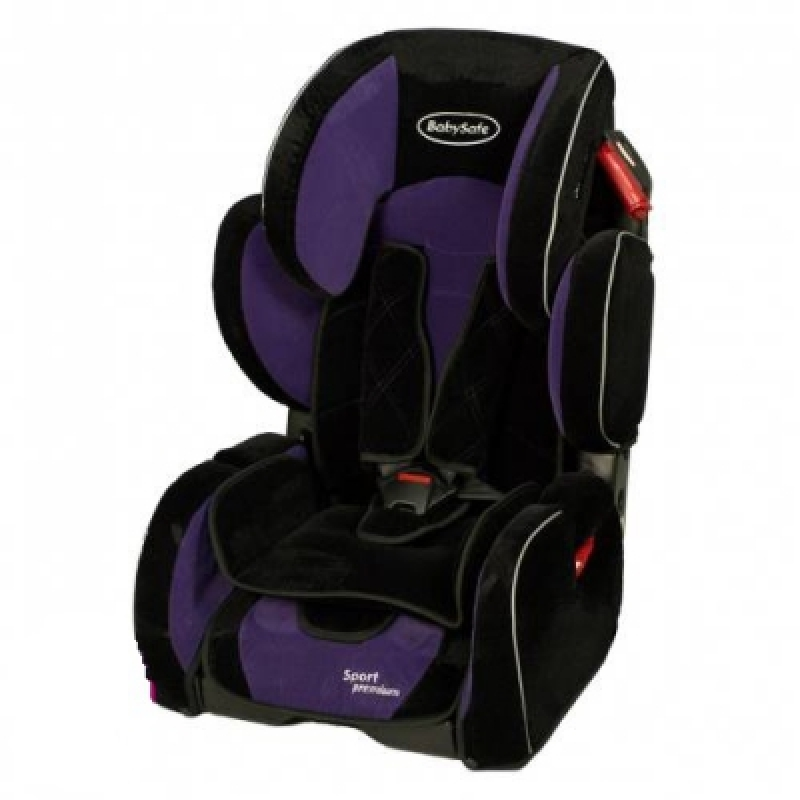Автокресло BabySafe Sport Premium 2013 - purple