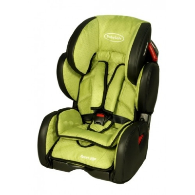 Автокресло BabySafe Sport VIP - green