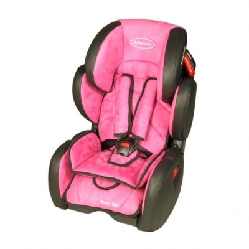 Автокресло BabySafe Sport VIP - pink