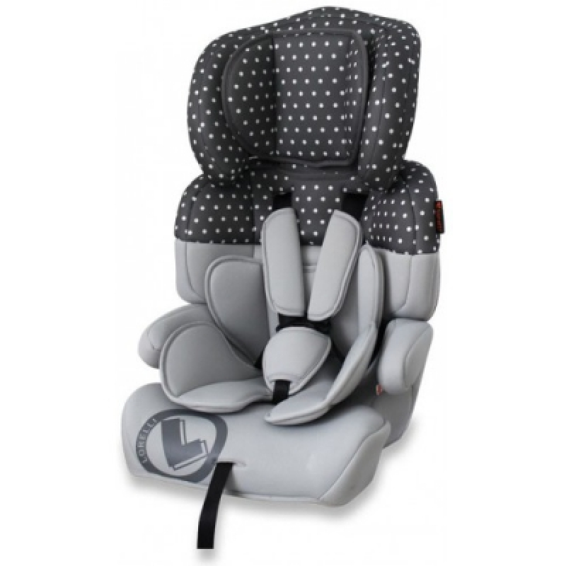 Автокресло Bertoni JUNIOR+ (grey dots)