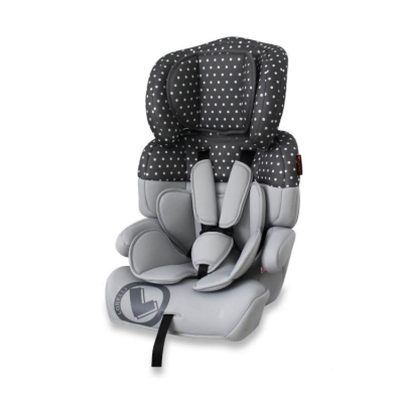 Автокресло Bertoni JUNIOR (grey dots)
