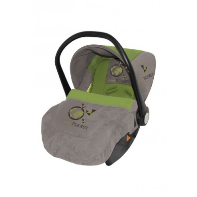 Автокресло Bertoni LIFESAVER (beige green planet)
