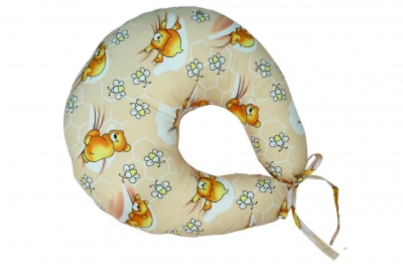 """Подушка для кормления Veres """"Medium beige"""" 200*90"""