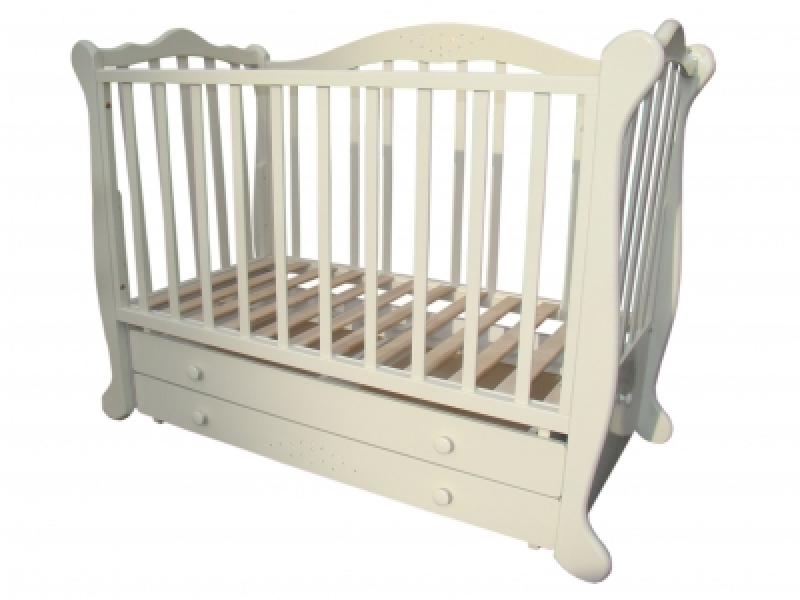 Кроватка детская ТРИЯ КАМЕЛИЯ (2 ящика)