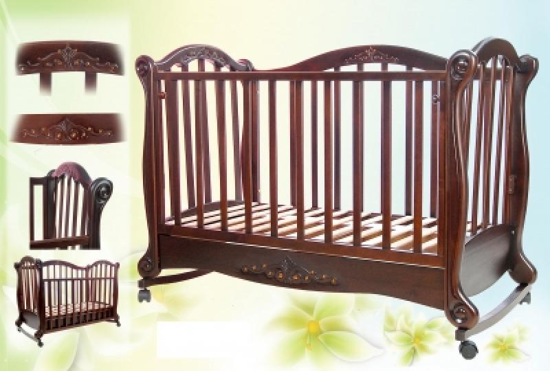 Кроватка детская ТРИЯ КРИСТАЛ